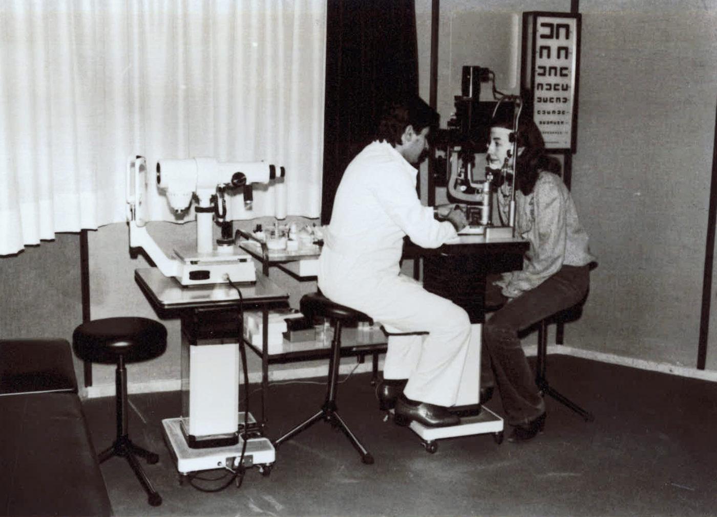 Dr. Rodríguez Infante al 1976